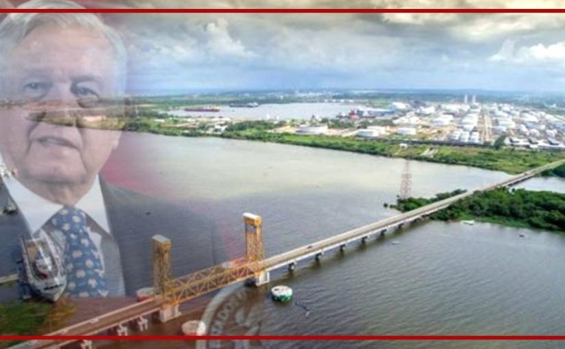 El sueño del proyecto transoceánico en el Istmo deTehuantepec